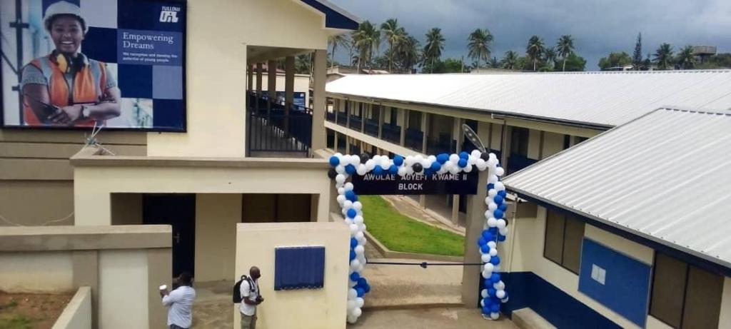 Tullow Ghana urged to adopt Nsien SHS as flagship school