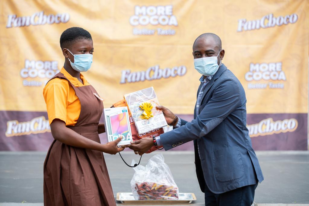 Positive impact of FanMilk PLC's 'FanChoco School Caravan' project on schools