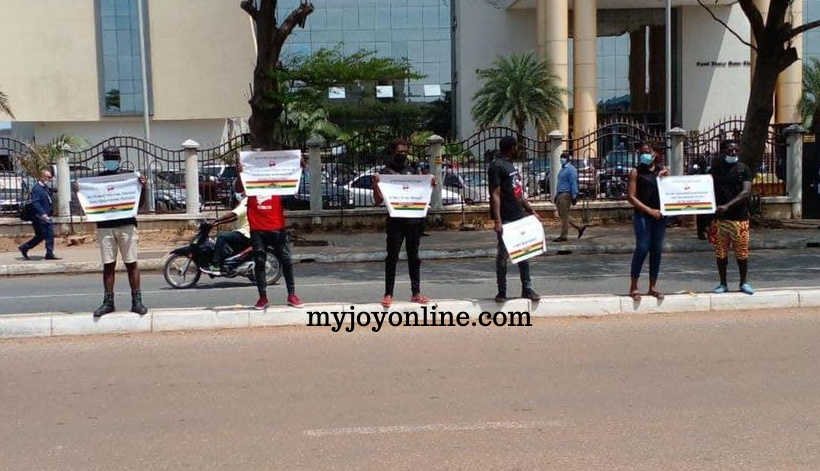 Efia Odo, more than 10 other #FixTheCountry campaigners arrested