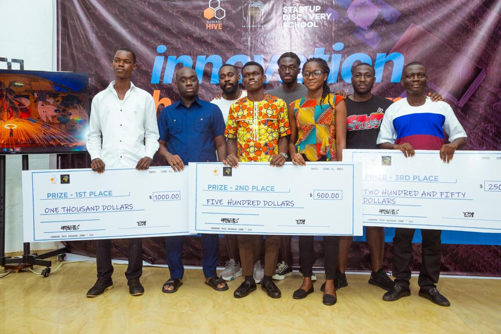 HC Talent Group partners Kumasi Hive and Startup Discovery school for Innovation Hackathon