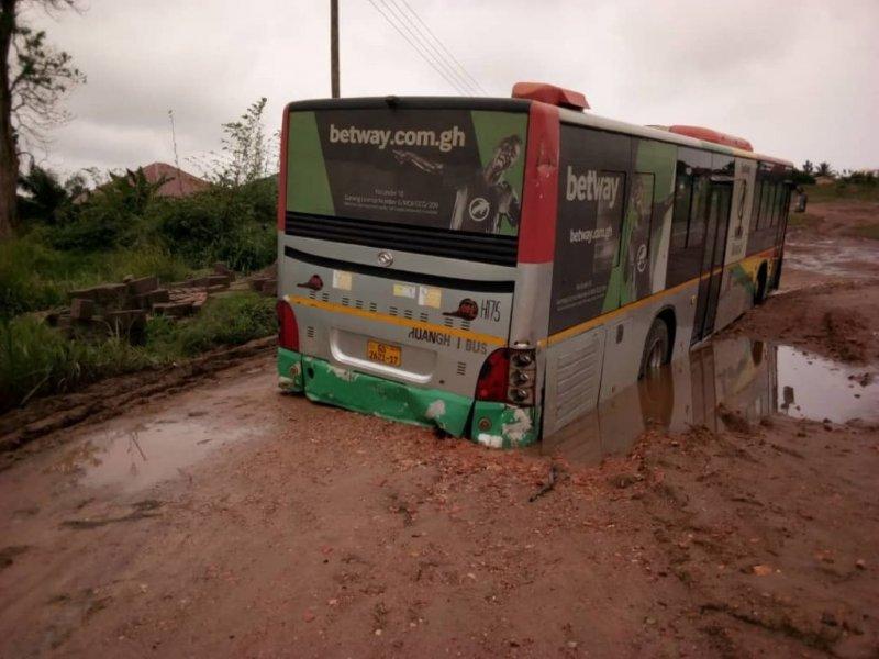 Heavy rains render Voradep village-UHAS roads impassable