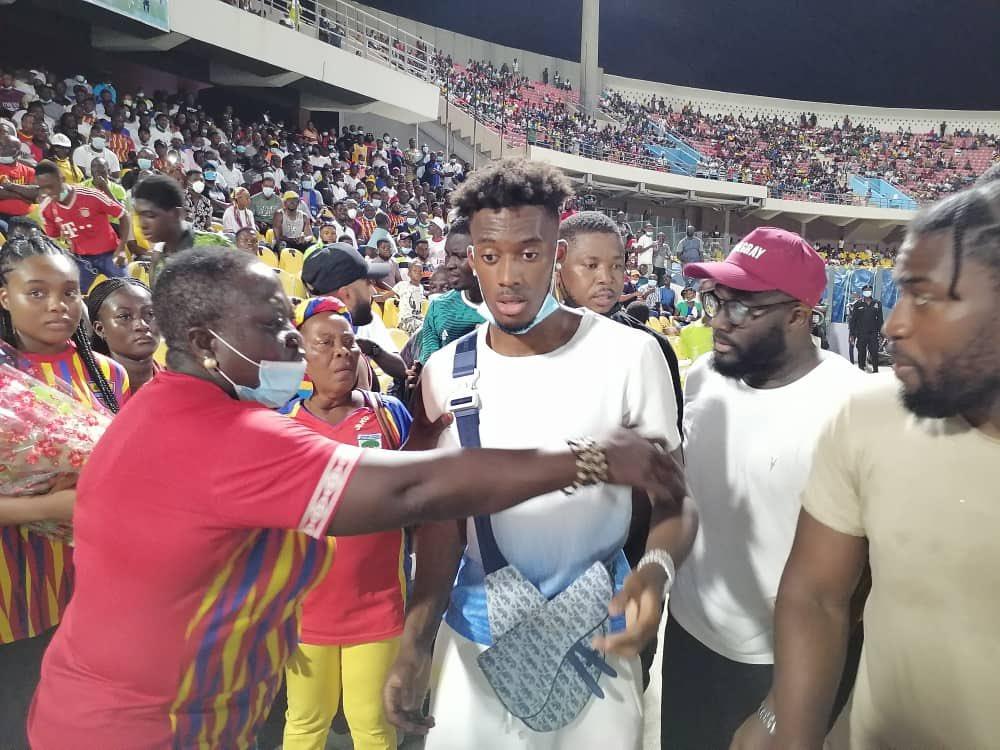 Hudson-Odoi joins in on GaMashie Derby frenzy