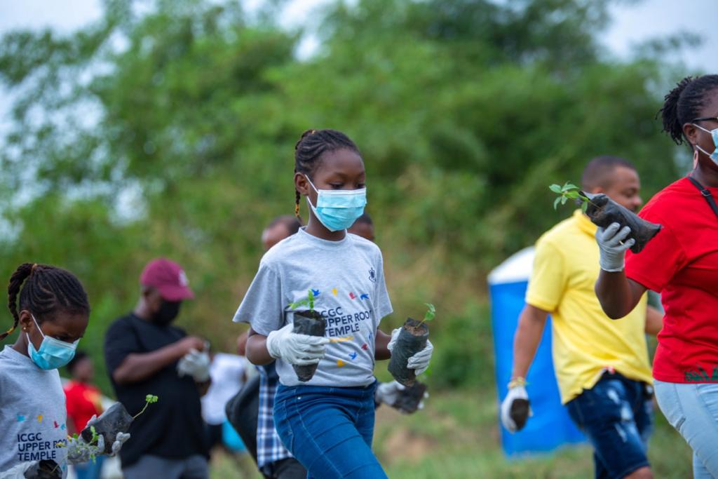 ICGC Upper Room Temple embarks on tree planting exercise at Central Children's Home Project Land