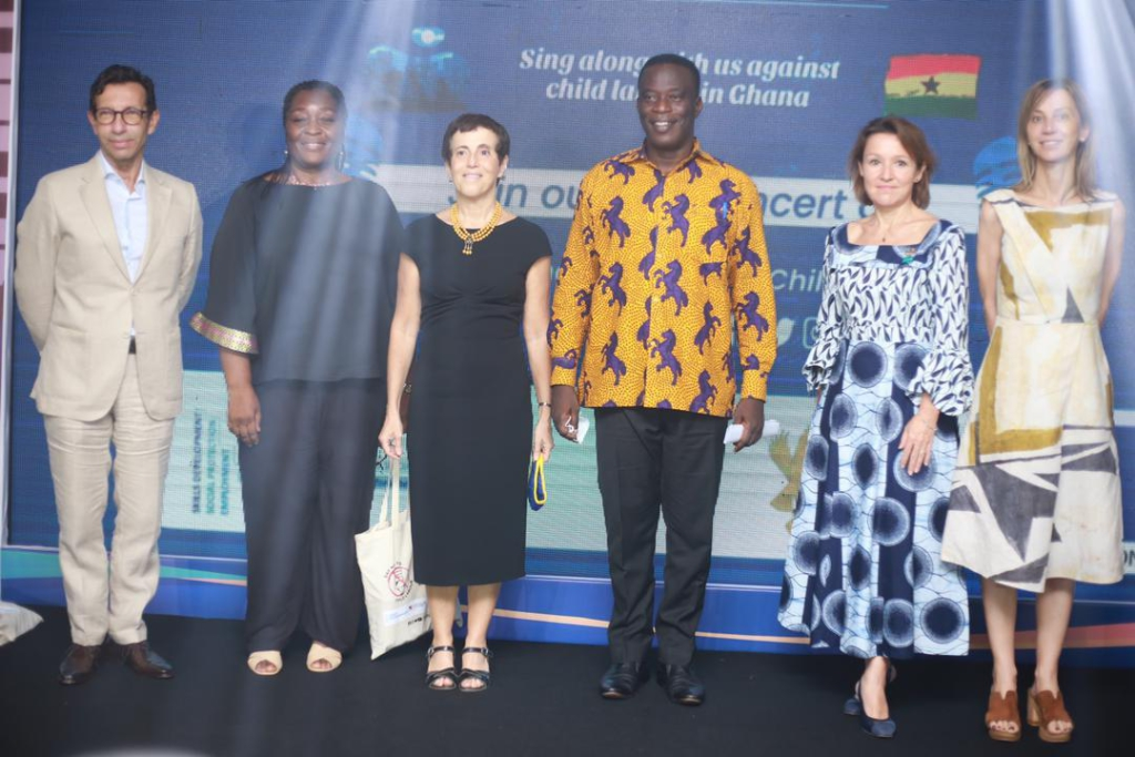 EU marks World Day Against Child Labour in Ghana with concert