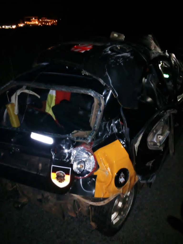 Sports presenter and 4-year-old dead with 13 others injured in 2 separate accidents