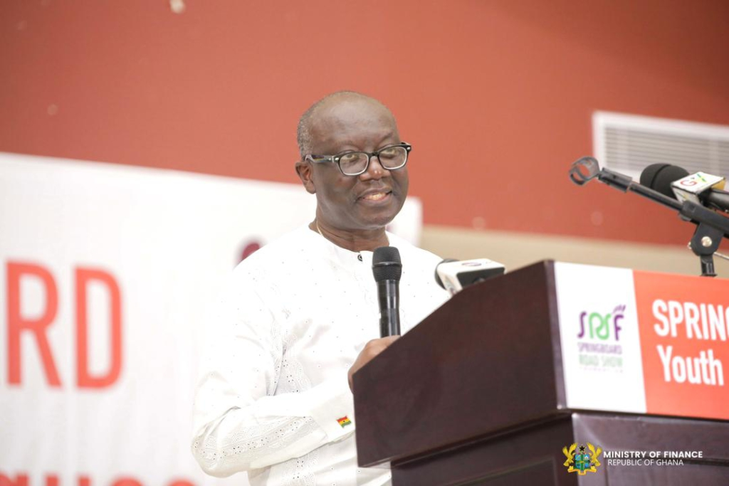 Opportunities abound despite challenging economic situation - Ofori-Atta to youth