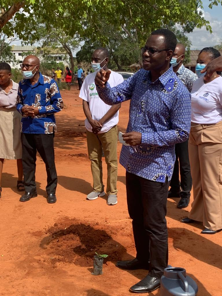 """NIB plants 2000 trees to complement """"Green Ghana Campaign"""""""