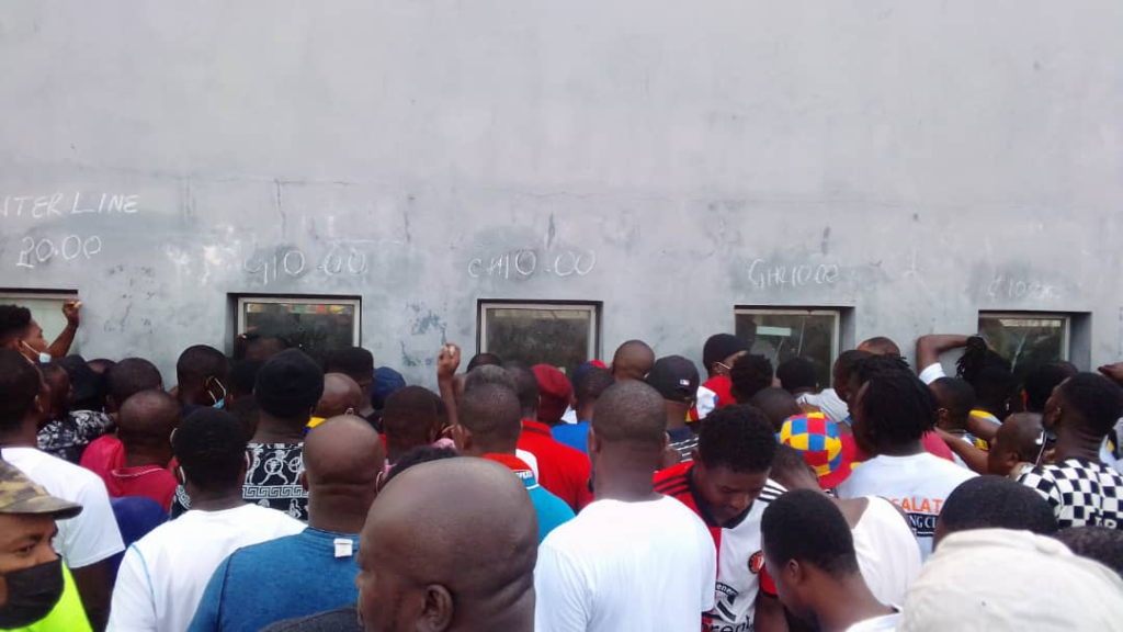 50 minutes of chaos outside the Mantse derby - George Addo Jnr's experience