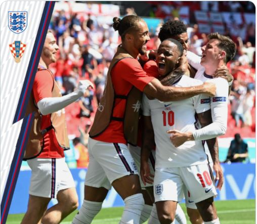 Euro 2020: Three Hungry Lions fed by Sterling lone goal