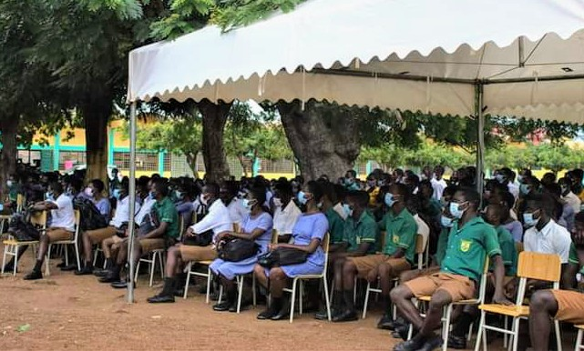 Express your displeasure without indecent language - Students urged