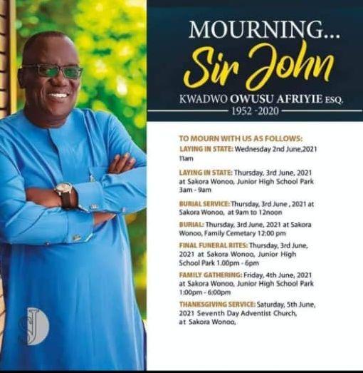 Kwadwo Owusu Afriyie (aka Sir John)