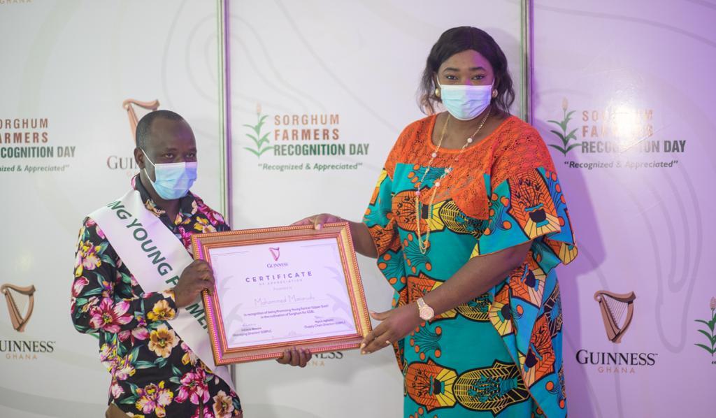 Guinness Ghana honours sorghum farmers