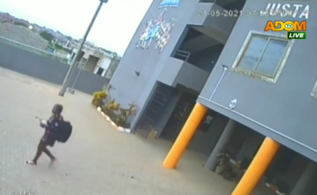 CCTV footage shows final moment of student-journalist who was killed in a hotel