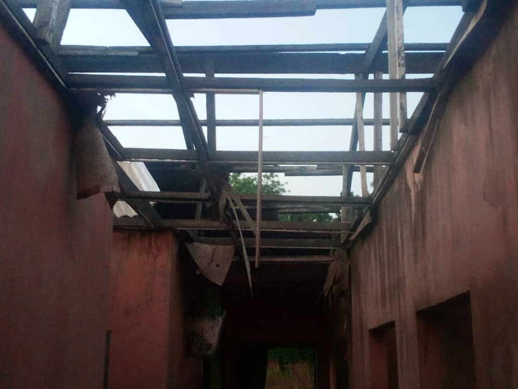 Authorities at Tamale Children's Home call for assistance to fix leaking roof