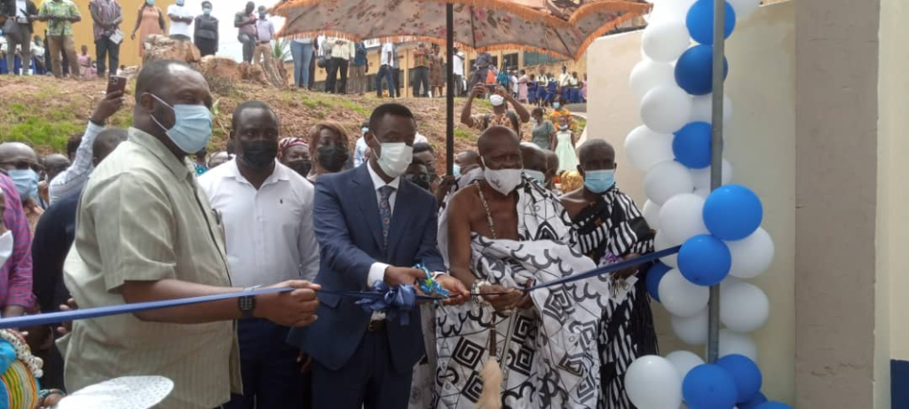 Tullow Ghana commissions 16-unit dormitory for Nsein SHS