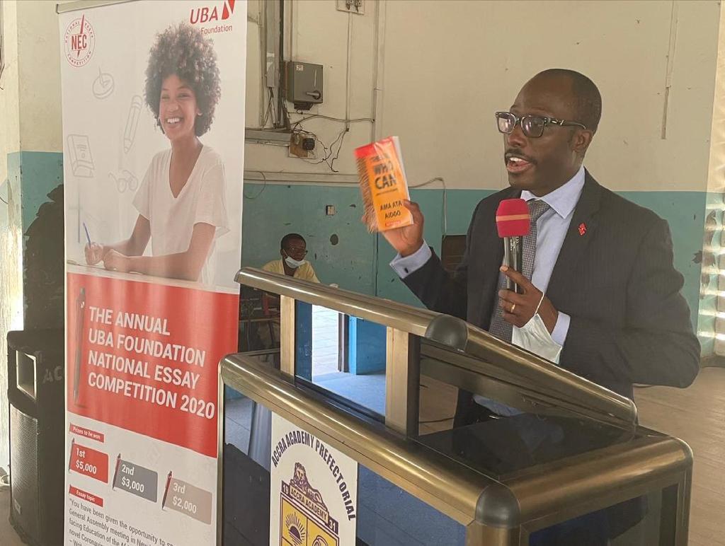 UBA Ghana donates African literature books to 4 SHSs marking International Day of the African Child