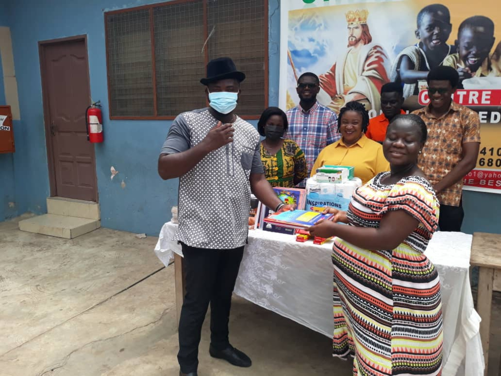 Ghana Association of Writers holds reading clinic for inmates of King Jesus Charity Home