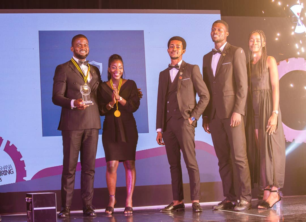 Caveman Watches wins Product of the Year at 2021 Ghana Manufacturing Awards