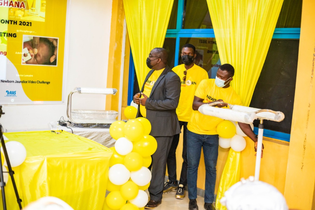 Africa Health Supplies donates Firefly Phototherapy, Colibri equipment to Paediatric Society of Ghana