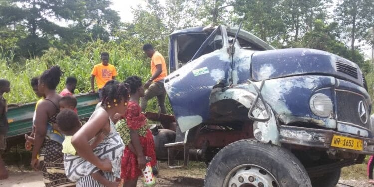 Many feared dead in gory accident at Afigya Kwabre