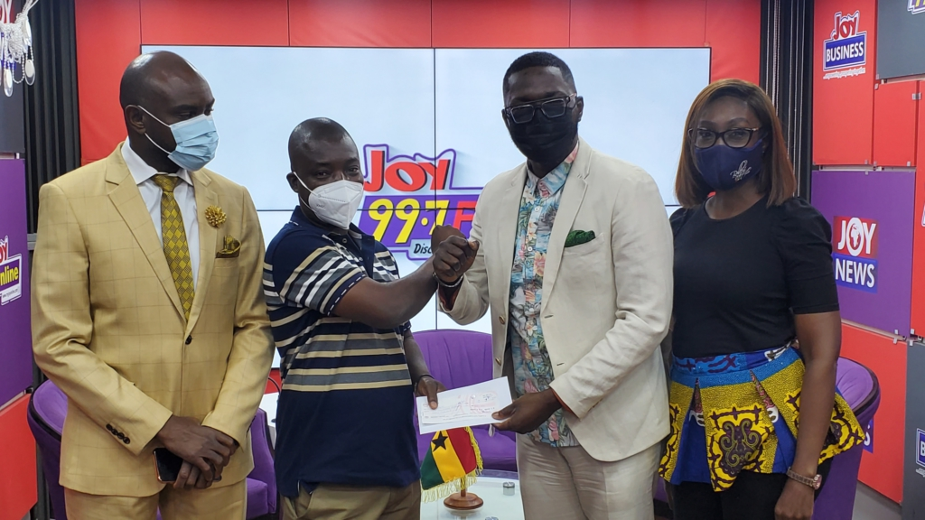 Joy FM listeners show love to conjoined twins
