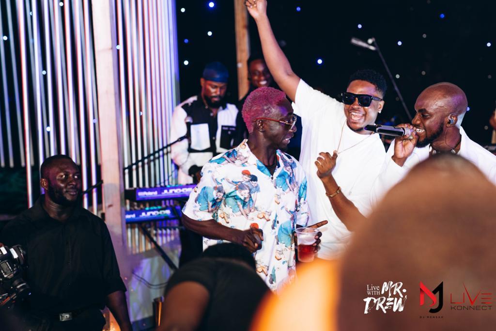 DJ Mensah holds star-studded birthday bash for Mr Drew