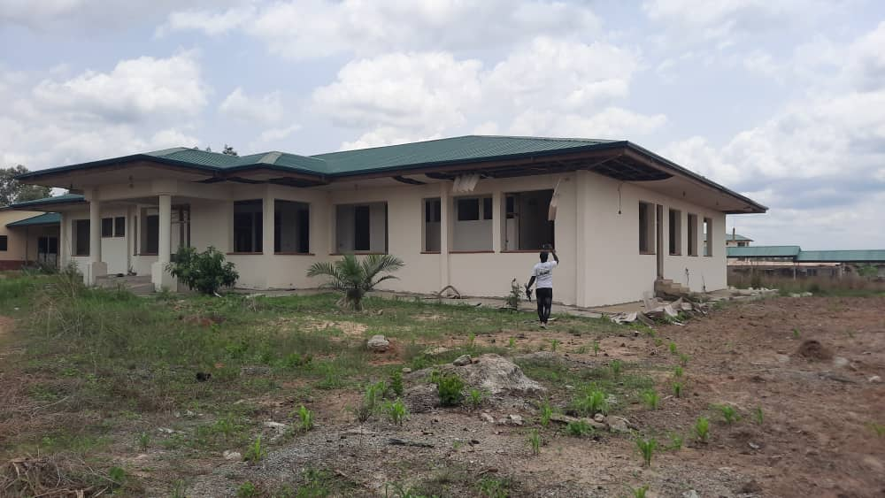 Stalled housing project at Akatsi South District Hospital worsening accommodation challenges for health workers