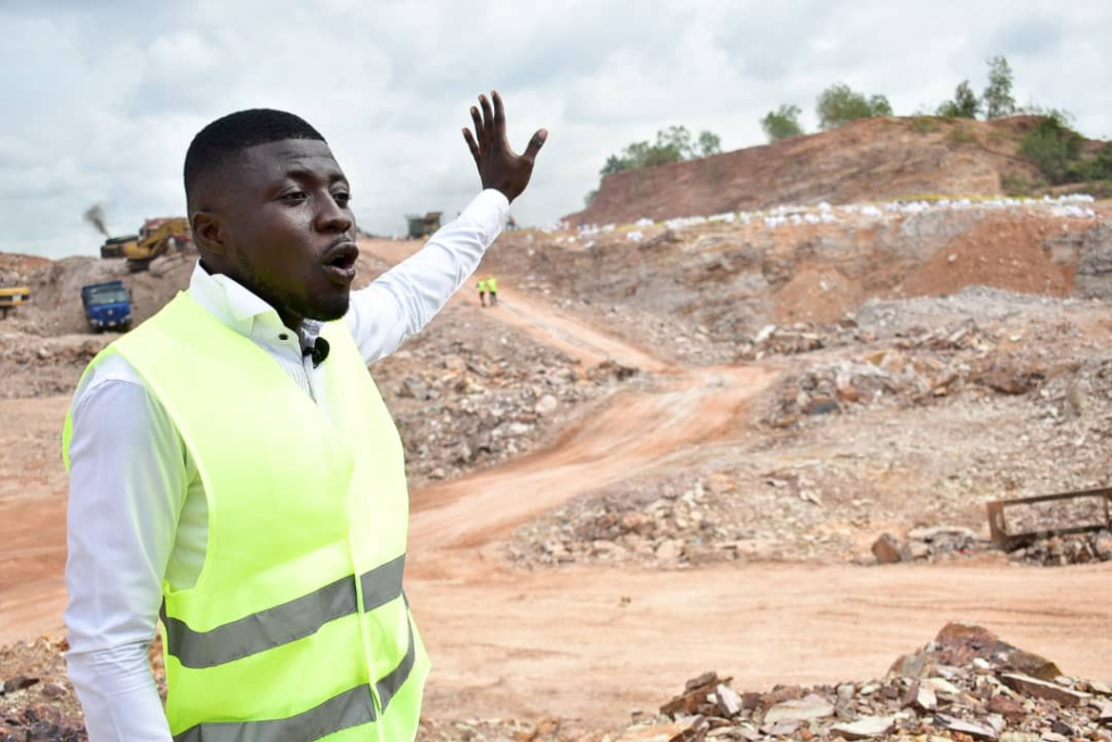 We are blasting in strict compliance with law and safety - Sunda reacts to concerns of Bortianor residents