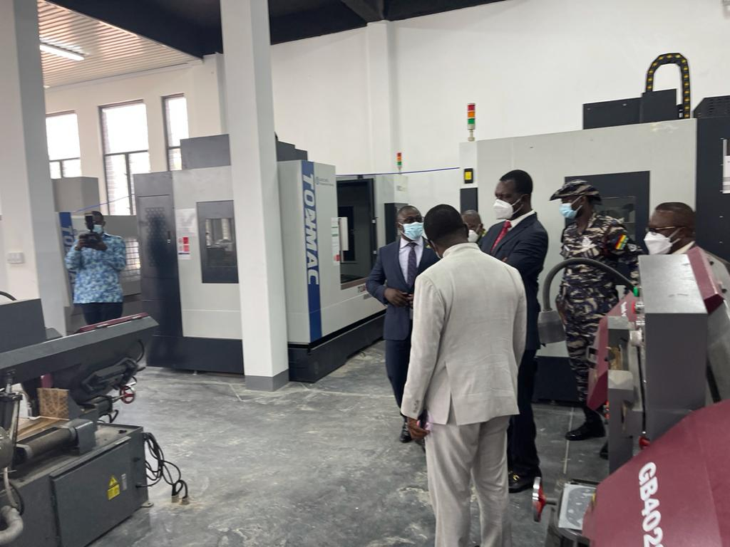 Minister for Education, Commission for TVET inspect project at CCTU