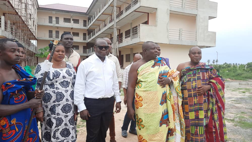 Chief of Aflao calls for completion of stalled Community Day School project