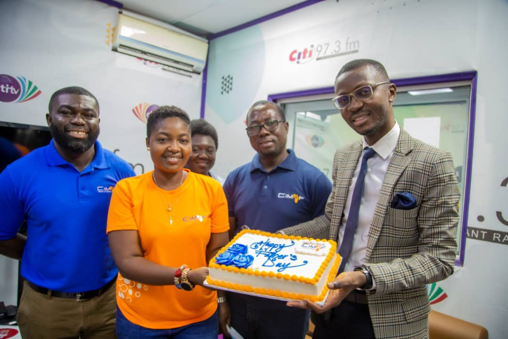 CIMAF Ghana commemorate Father's Day in a special way
