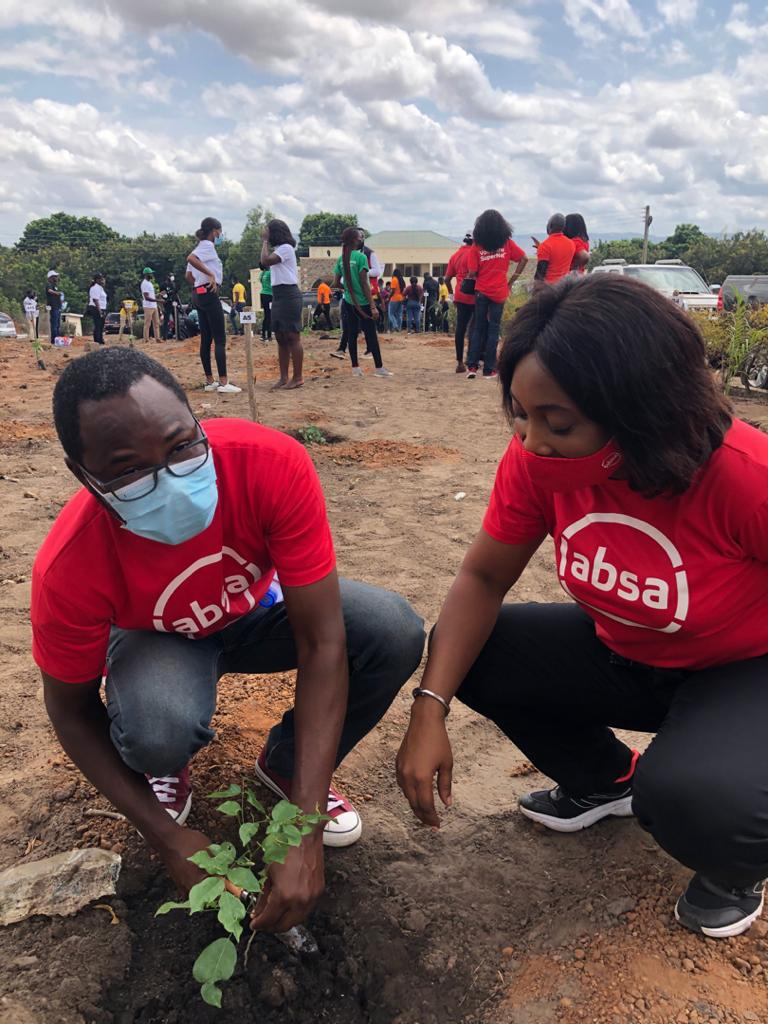 Absa Bank joins Ghana's 5 million tree planting initiative