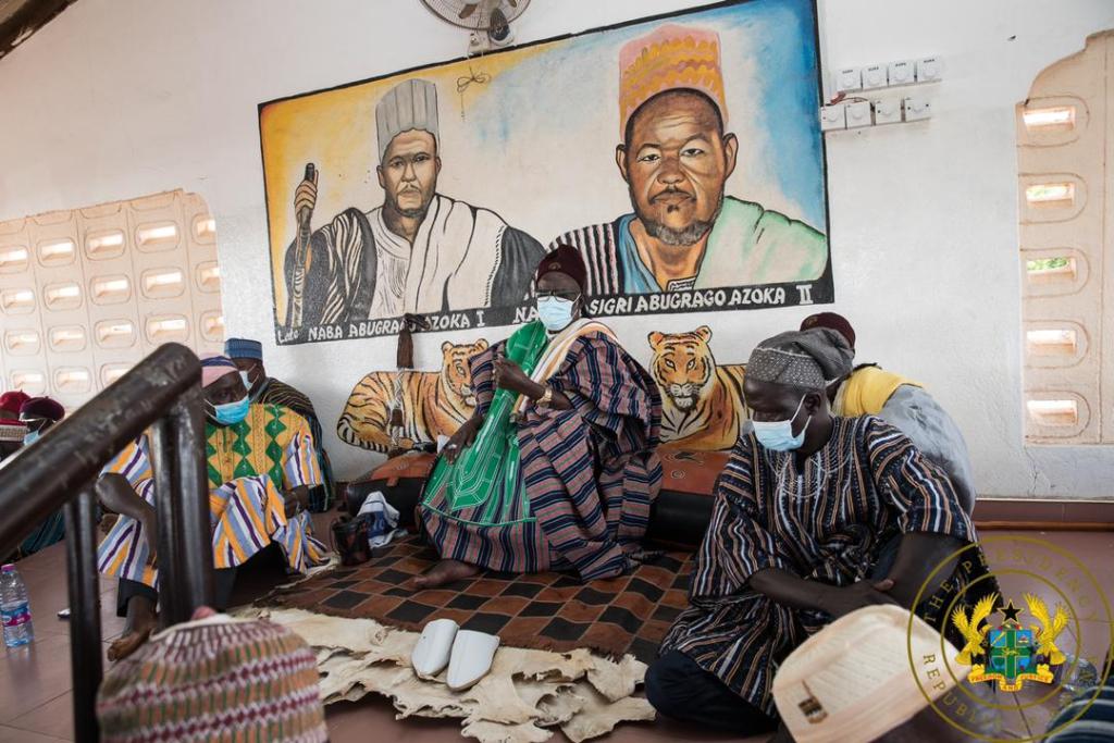 So far, so good; Bawku appreciates your policies – Bawku Naba to Akufo-Addo