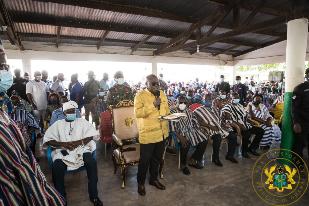 Ghana lucky to have you as president in Covid-19 era - Mamprusi Elders to Akufo-Addo