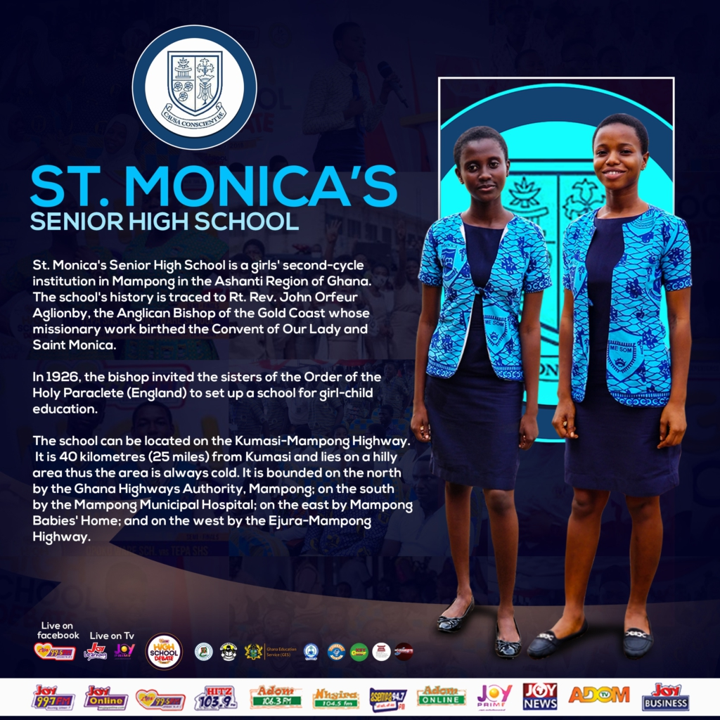 Luv FM High School Debate: Prempeh College and St. Monica's for the finals