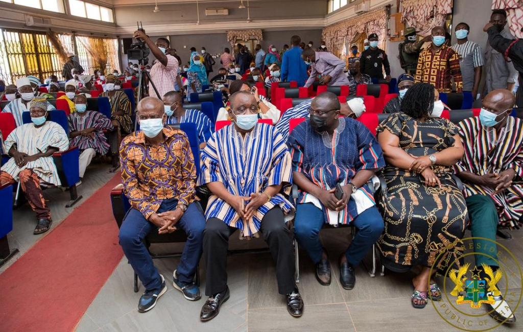 Thanks for the big support; Bawumia has been first class - Akufo-Addo to North East Region
