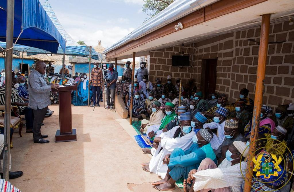 You've done projects previous governments could not do for us – Nayiri to Akufo-Addo