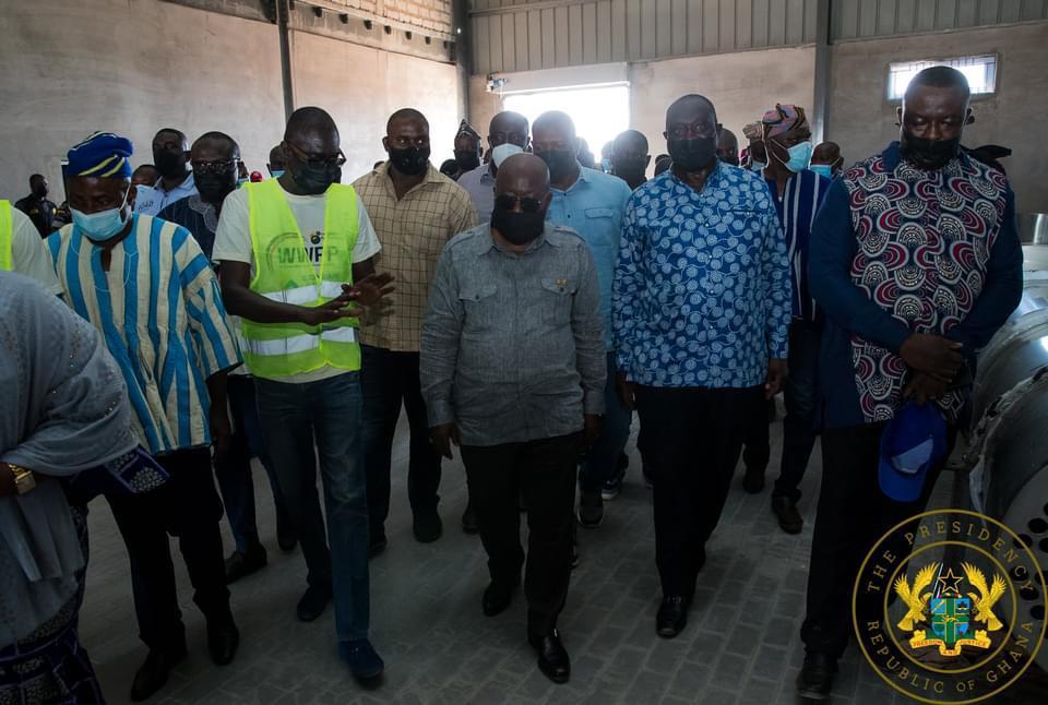 Alan Kyerematen, Akufo-Addo visit two 1D1Fs in Bawumia's hometown