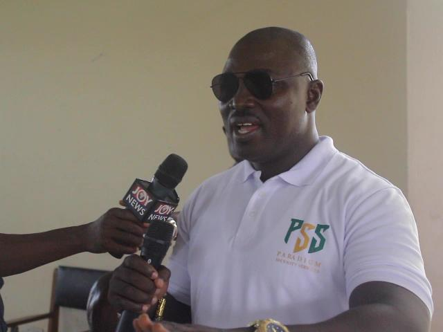 Visually impaired students at Cape Coast School for the Deaf and Blind call on government to fix school's road network