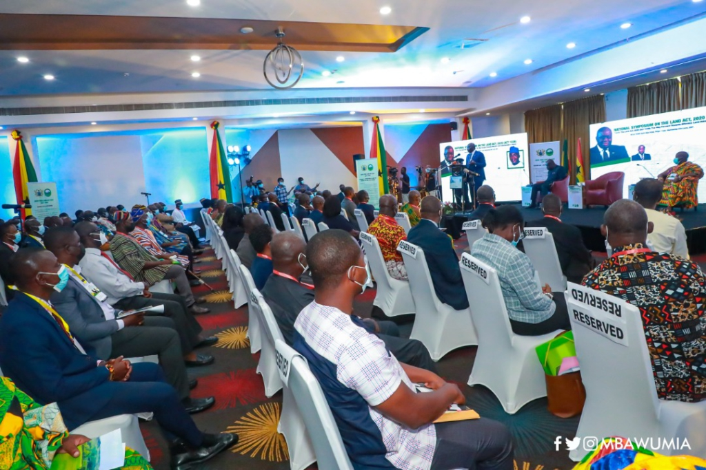 Collaborate to ensure new Land Act works - Bawumia