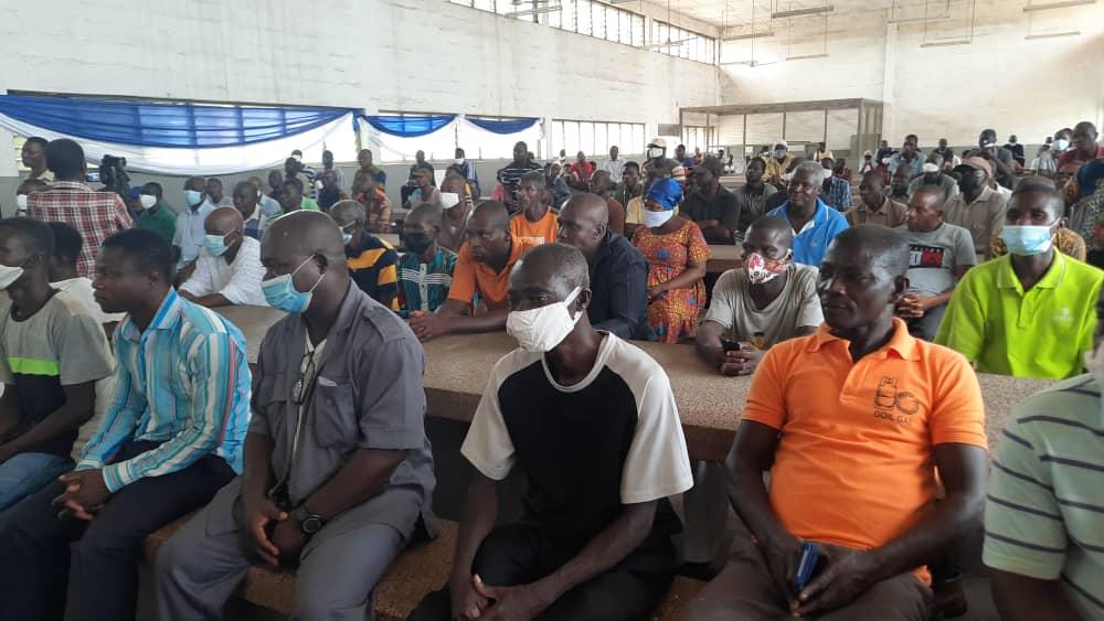Volta Star Textile Limited inaugurates local union executives