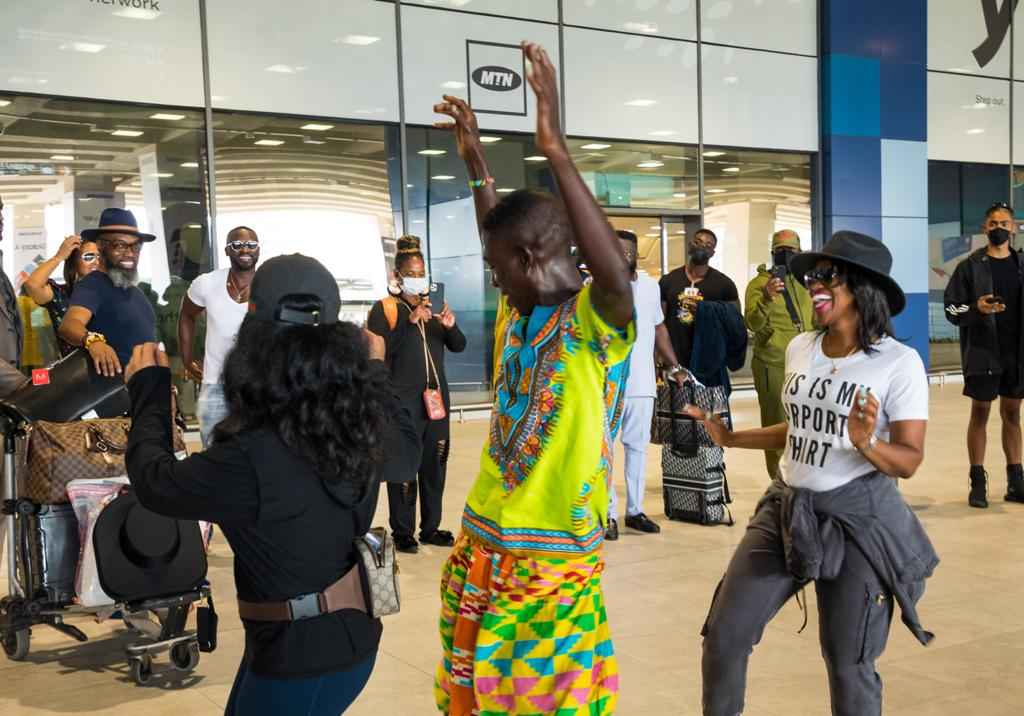 Third batch of tourists arrive for Beyond The Return initiative
