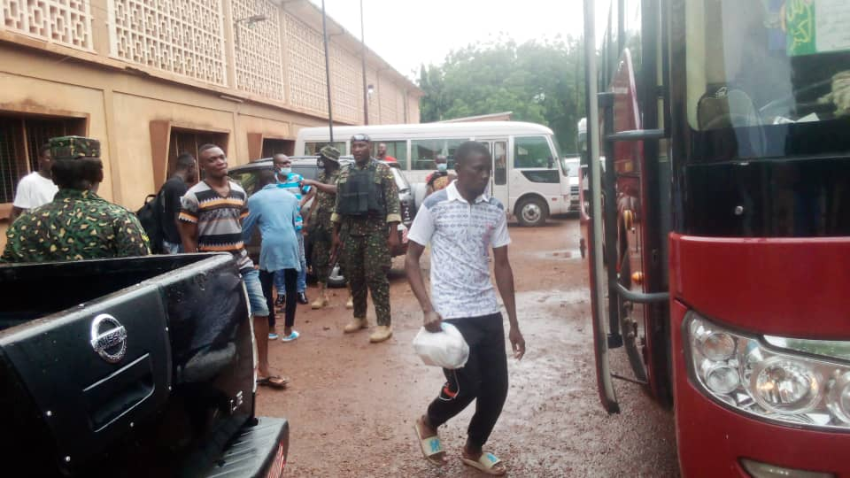 44 Nigerians deported for illegally staying in Ghana