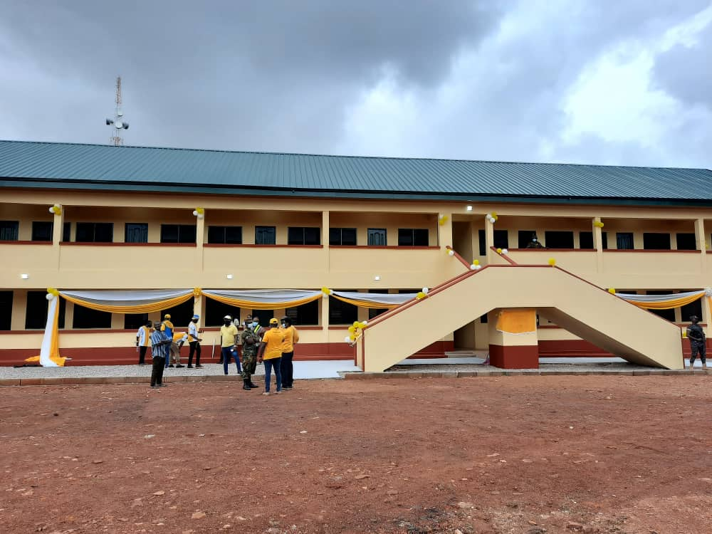 Bawumia lauds MTN for constructing girls dormitory for Tamale Senior High School