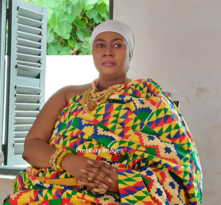 Paramount Queen Mother of Dormaa awarded an Honorary Doctorate degree by the Alfred Nobel University of Ukraine