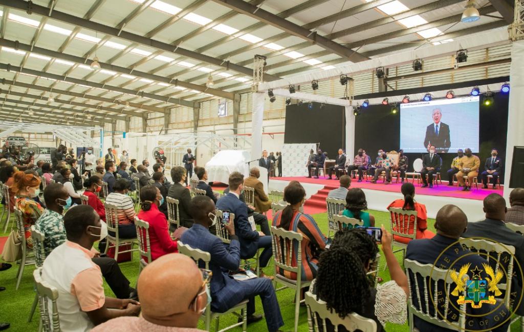 Akufo-Addo commissions Toyota and Suzuki Vehicle Assembly Plant