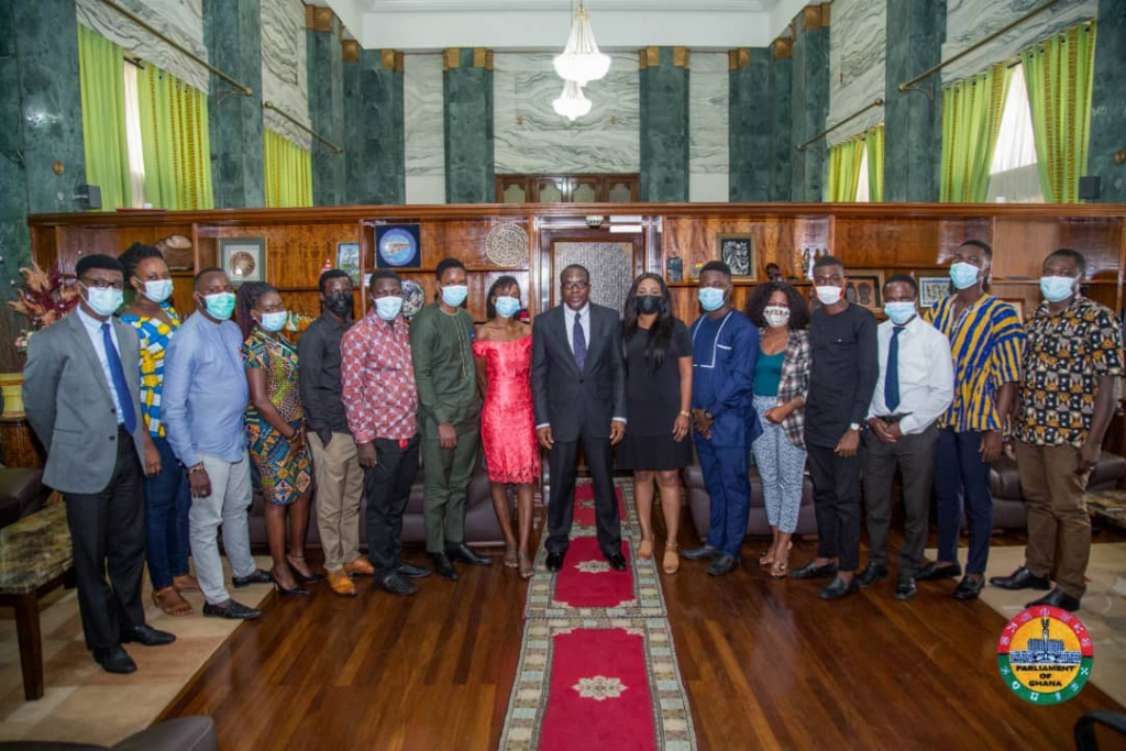 Remain committed to winning 2024 elections - Speaker charges NDC youth