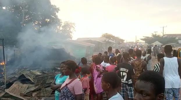 Fire destroys property at Asankragwa in Western Region