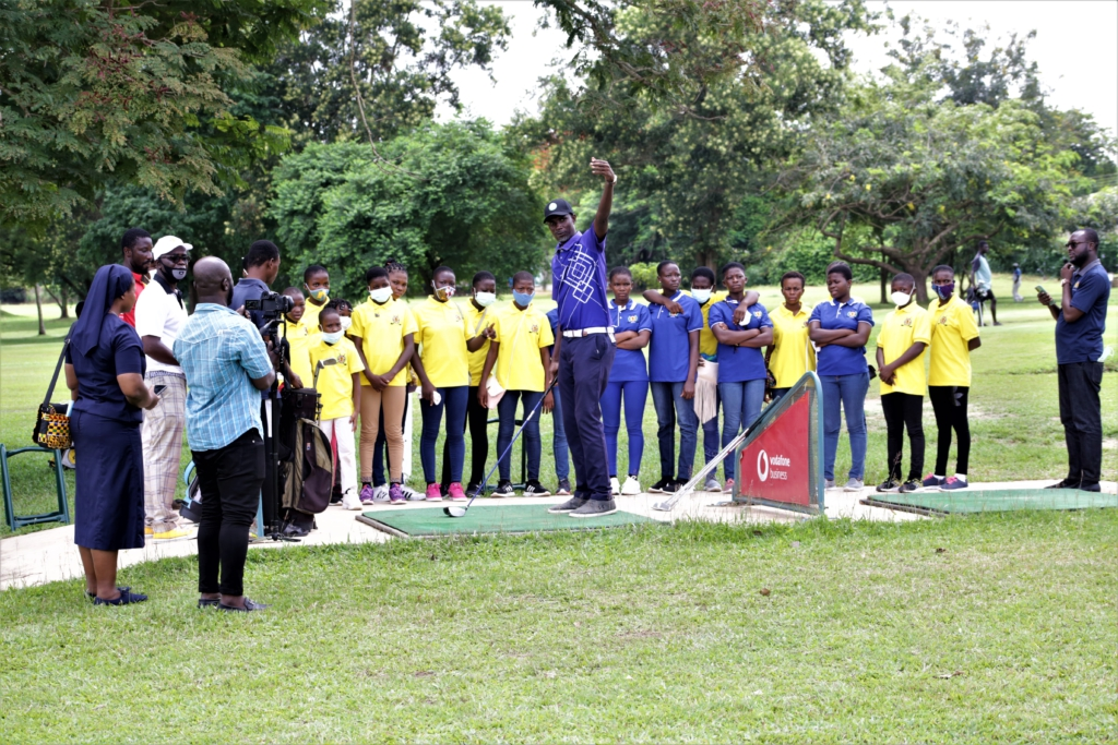 20 girls to benefit from Captain One Golf Society Kids Project in Kumasi