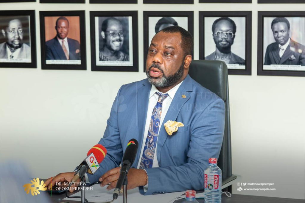 My main task is to rid Ghana Gas of avoidable debt - Energy Minister as he inaugurates Governing Board